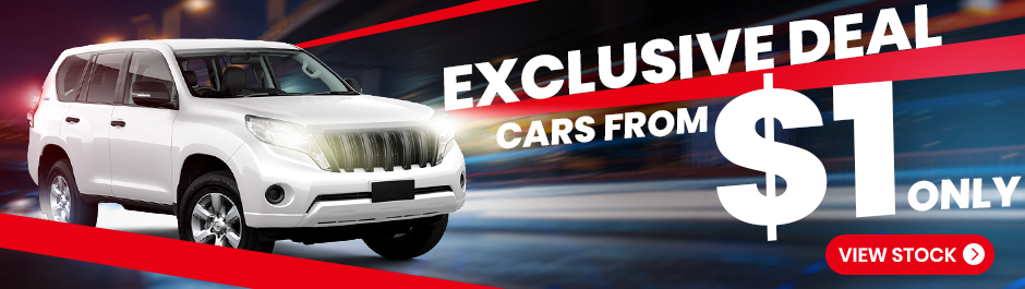 exclusive car deals from 1 dollar