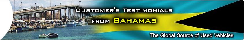 CUSTOMER TESTIMONIAL bahamas