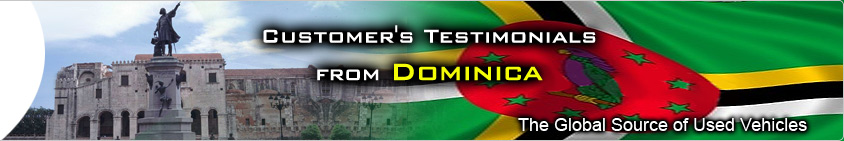 CUSTOMER TESTIMONIAL dominica