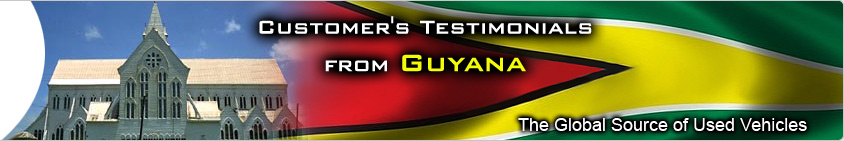 CUSTOMER TESTIMONIAL guyana