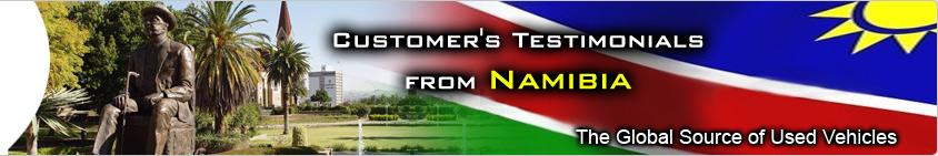 CUSTOMER TESTIMONIAL namibia