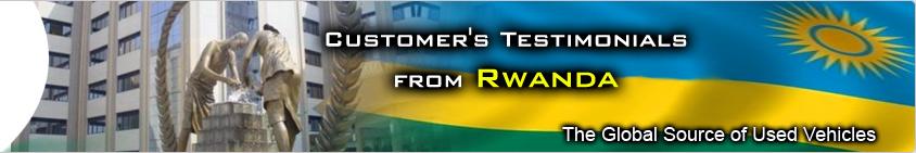 CUSTOMER TESTIMONIAL rwanda