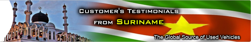 CUSTOMER TESTIMONIAL suriname
