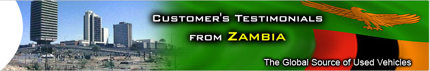 CUSTOMER TESTIMONIAL zambia