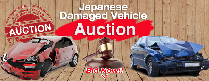 Damaged car auction