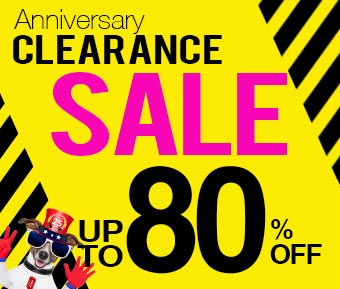 Anniversary Clearance Sale