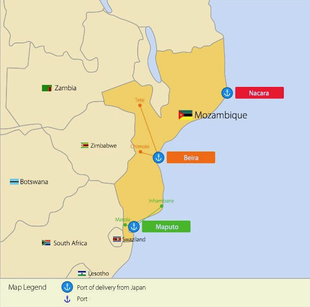 car sales in mozambique