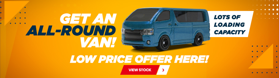 used all round van sale for Mozambique