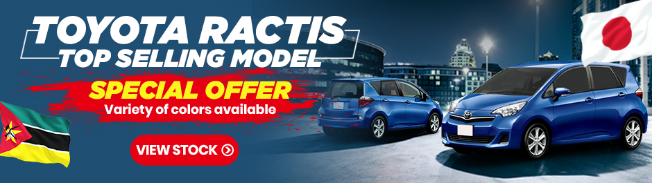 used toyota ractis special offer for Mozambique