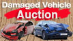 Damaged car auction