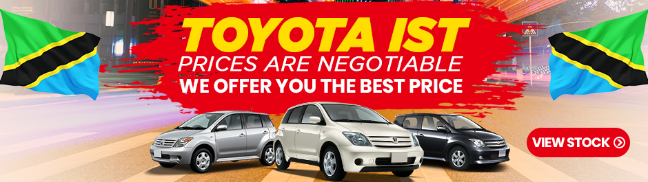 used toyota ist for sale in tanzania