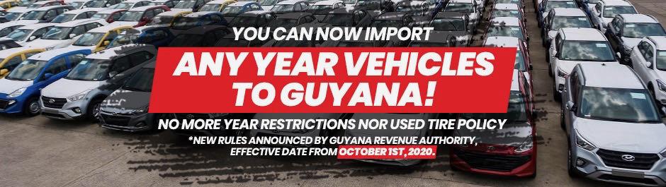 used cars in dr guyana